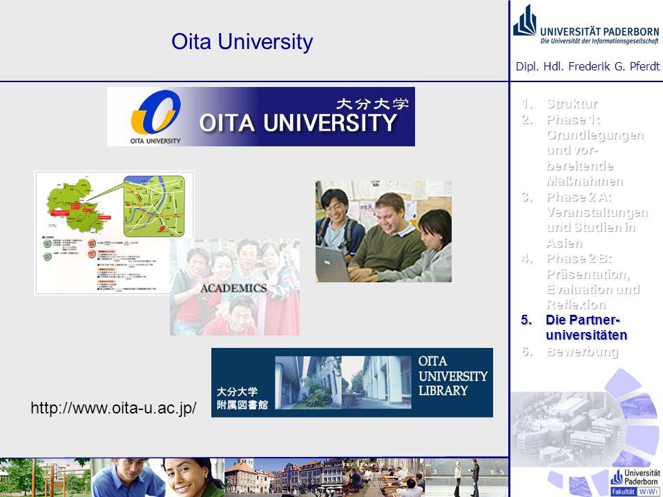 Oita University http://www.oita-u.ac.jp/ Struktur