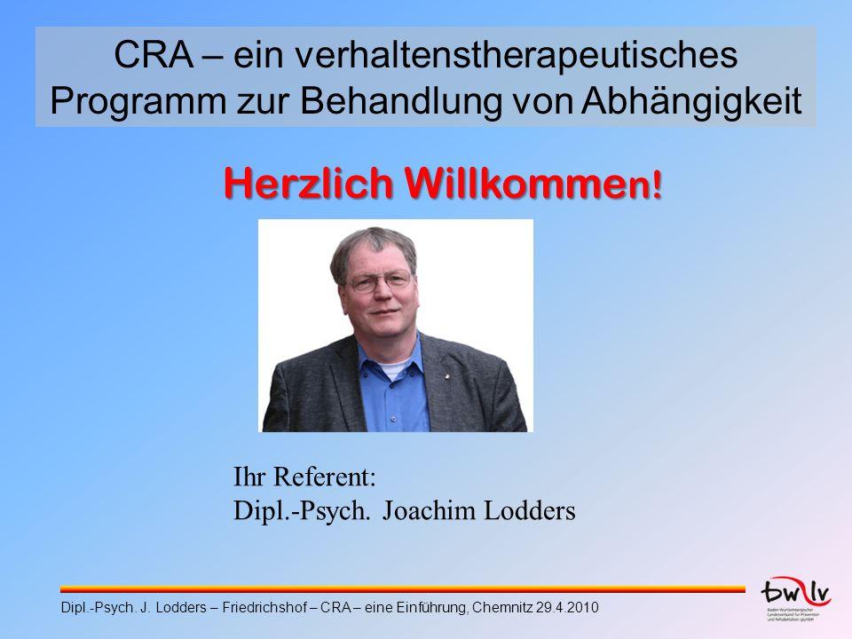 CRA – ein verhaltenstherapeutisches Programm zur Behandlung von Abhängigkeit