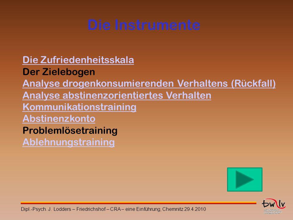 Die Instrumente Die Zufriedenheitsskala Der Zielebogen