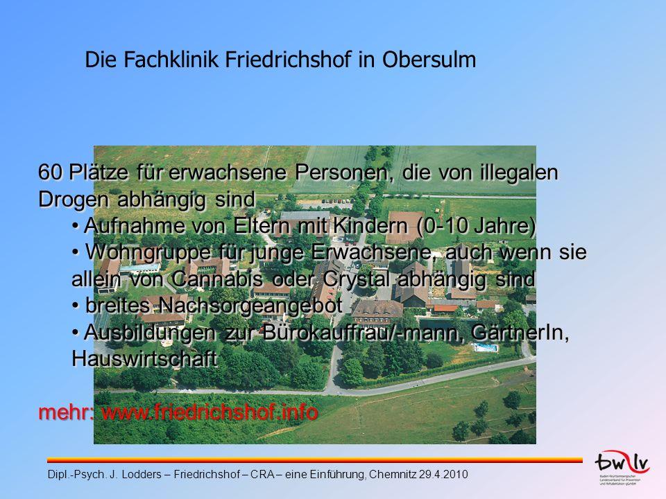 Die Fachklinik Friedrichshof in Obersulm