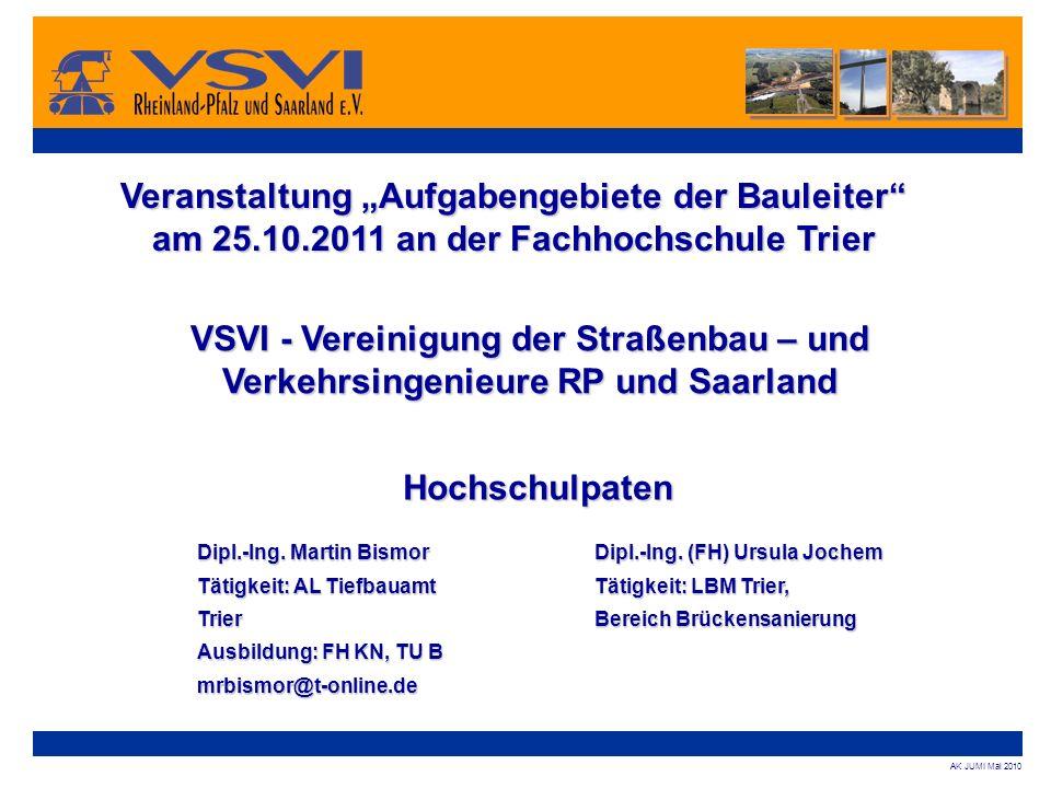 """Veranstaltung """"Aufgabengebiete der Bauleiter"""