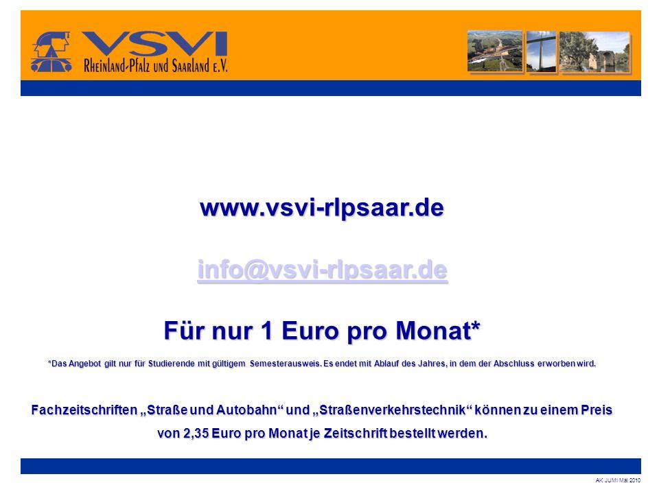 www.vsvi-rlpsaar.de info@vsvi-rlpsaar.de Für nur 1 Euro pro Monat*