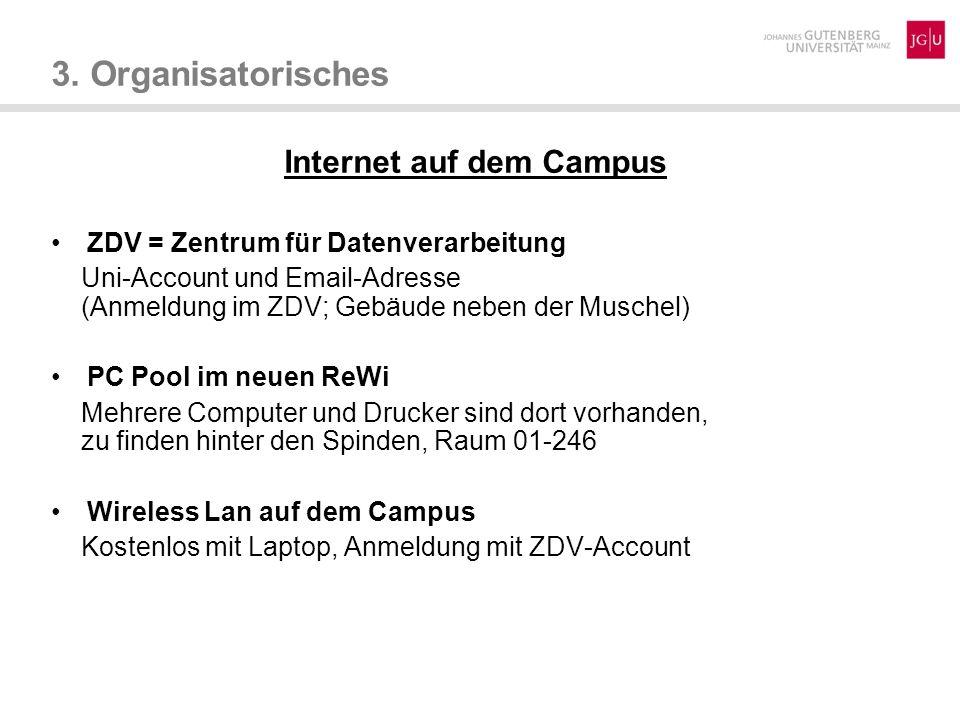 Internet auf dem Campus