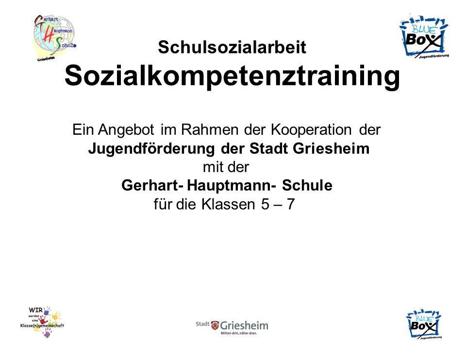 Sozialkompetenztraining Jugendförderung der Stadt Griesheim