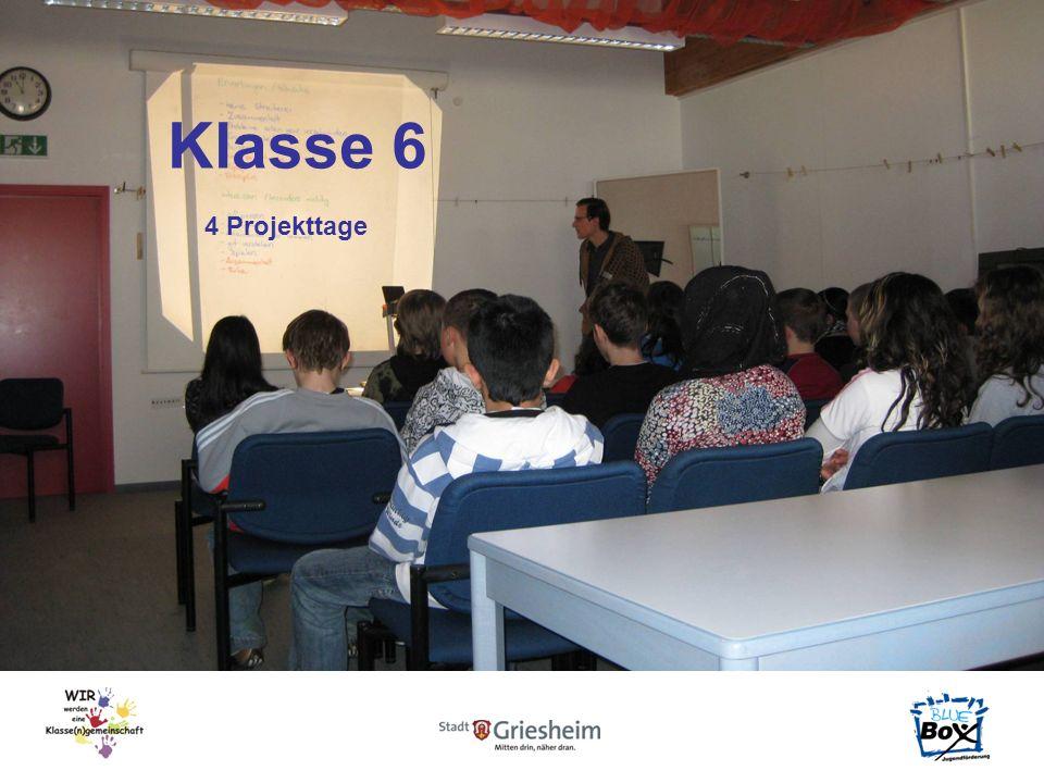 Klasse 6 4 Projekttage