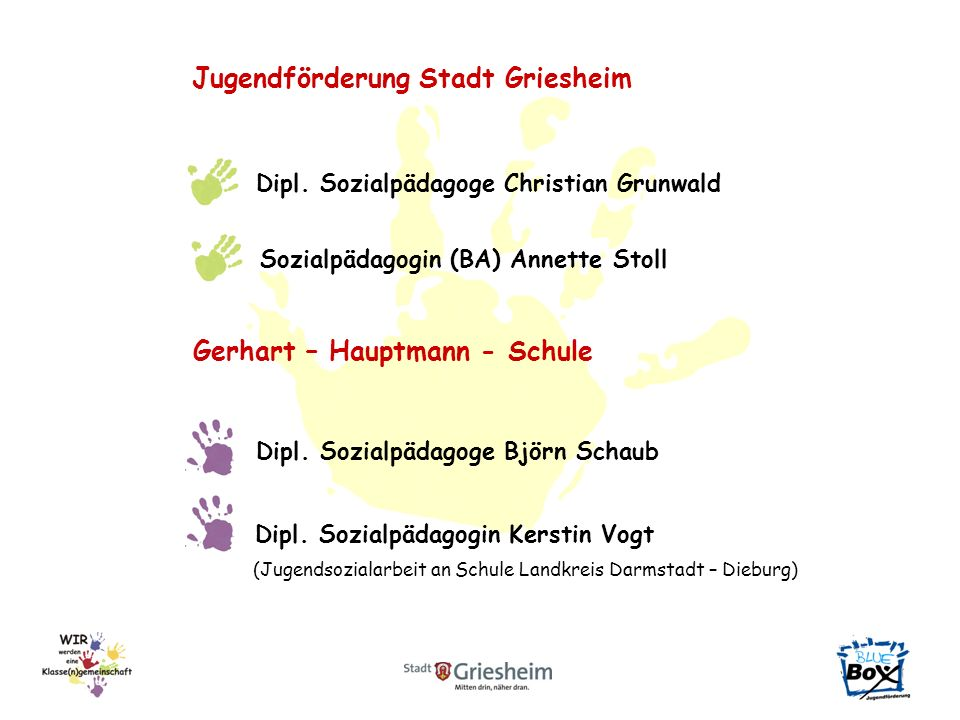 Jugendförderung Stadt Griesheim