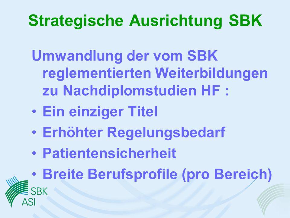 Strategische Ausrichtung SBK