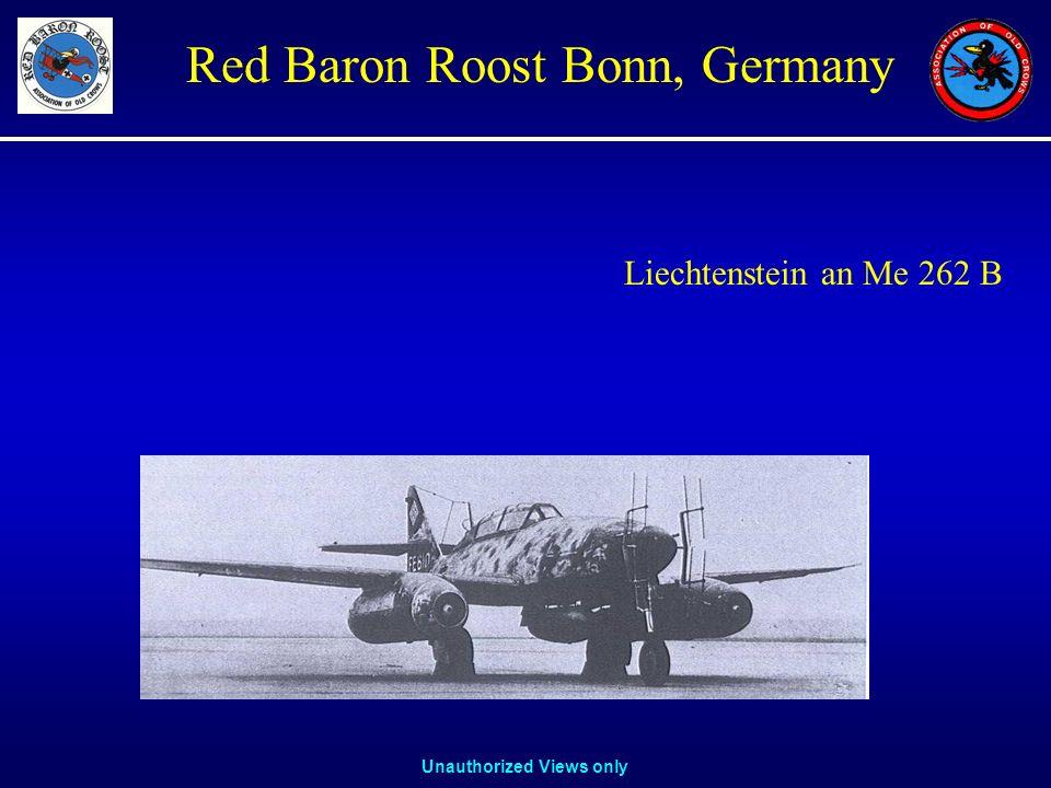 Liechtenstein an Me 262 B