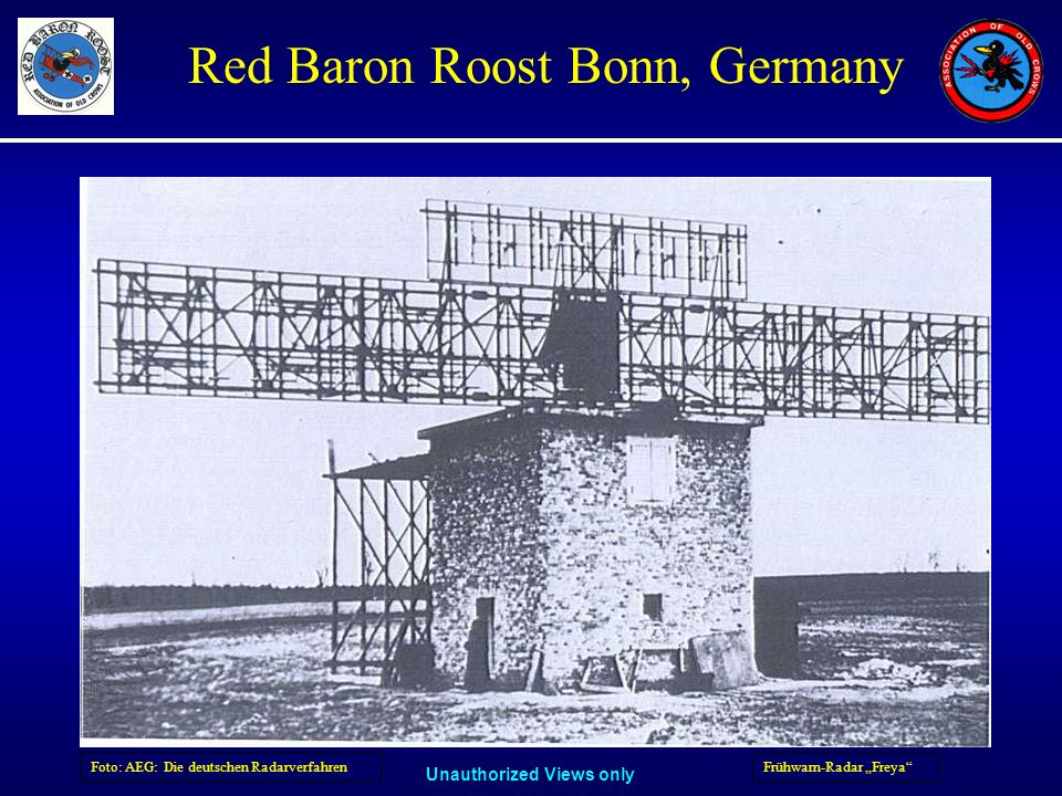 Foto: AEG: Die deutschen Radarverfahren