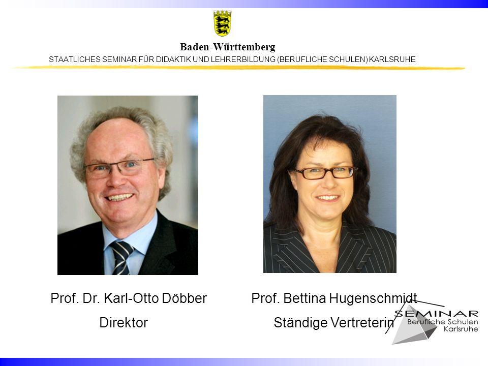 Prof. Dr. Karl-Otto Döbber Prof. Bettina Hugenschmidt
