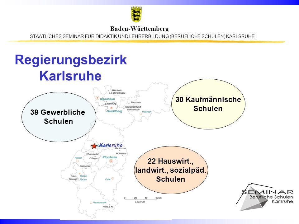 Regierungsbezirk Karlsruhe