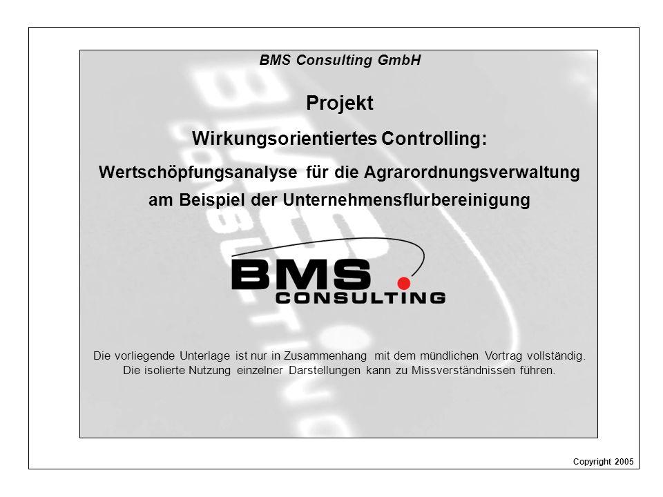 Projekt Wirkungsorientiertes Controlling: