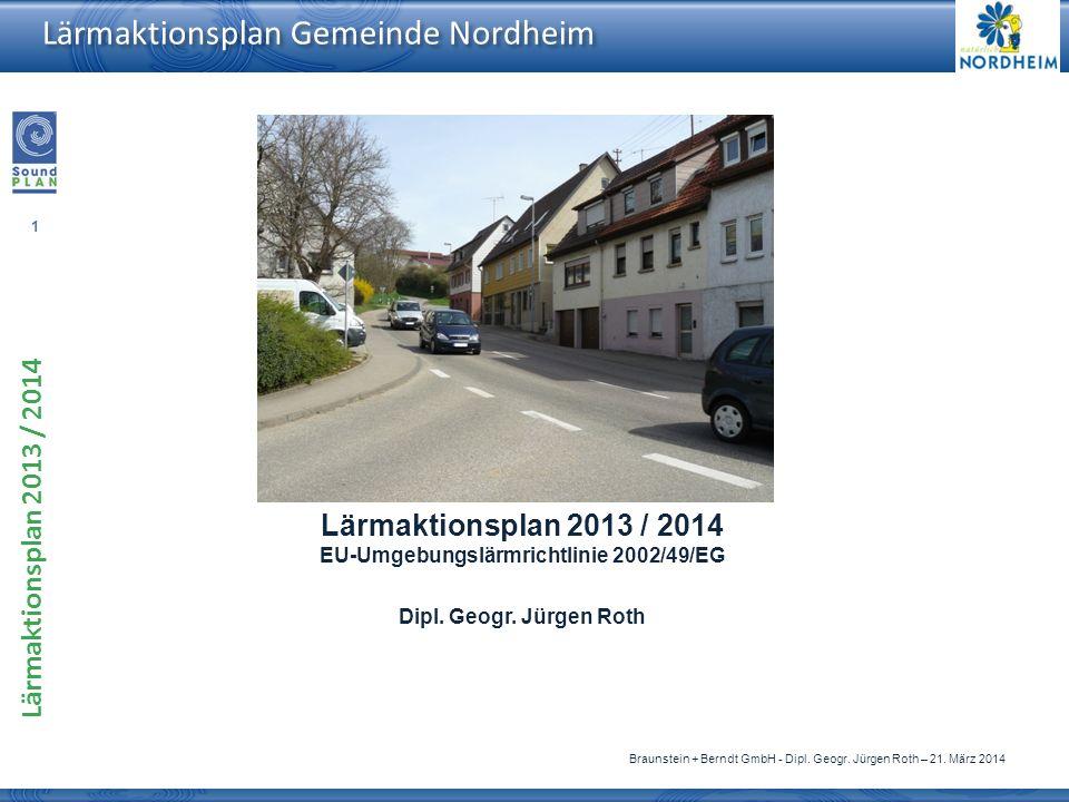 EU-Umgebungslärmrichtlinie 2002/49/EG