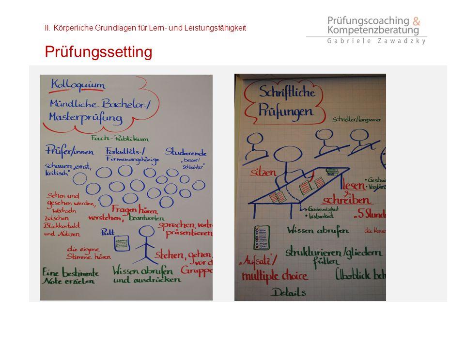II. Körperliche Grundlagen für Lern- und Leistungsfähigkeit