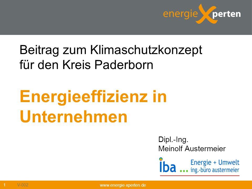 Beitrag zum Klimaschutzkonzept für den Kreis Paderborn