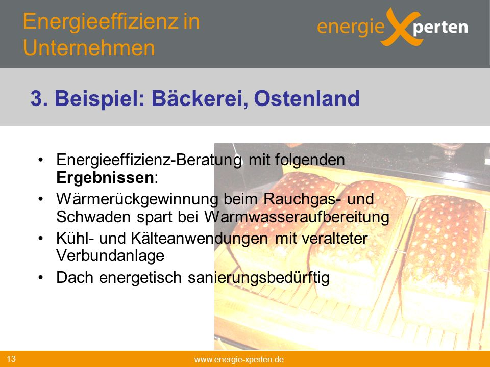 Energieeffizienz in Unternehmen