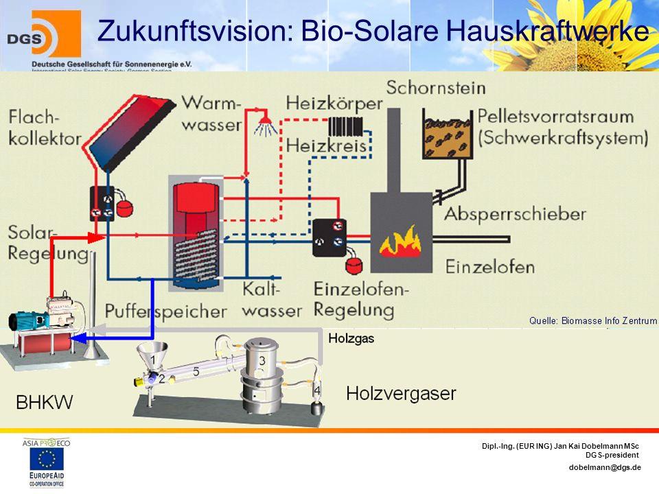 Zukunftsvision: Bio-Solare Hauskraftwerke