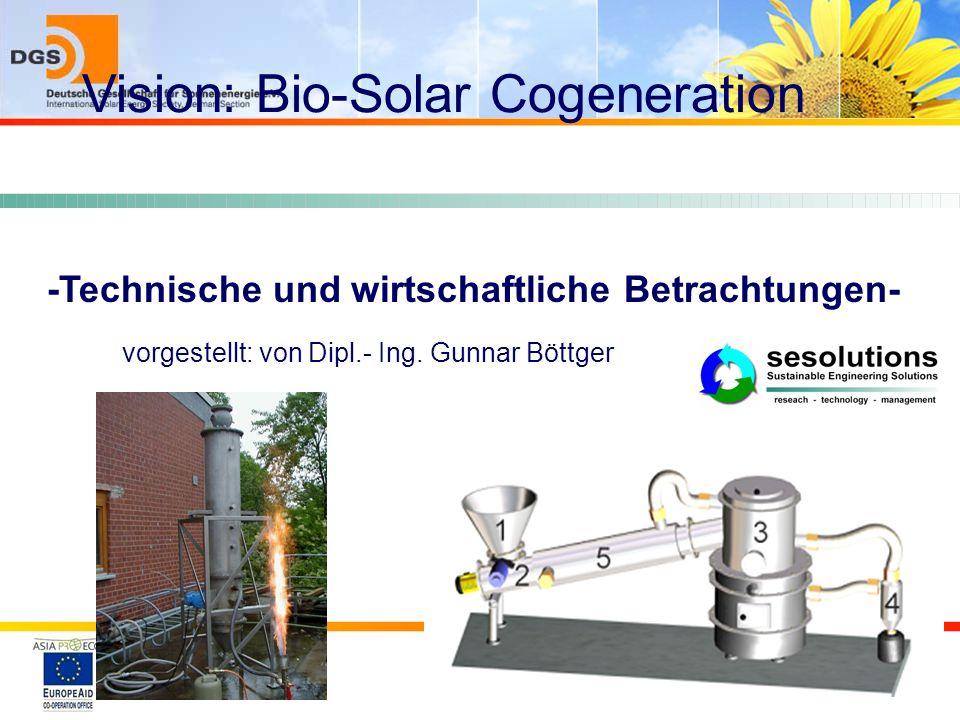 Vision: Bio-Solar Cogeneration