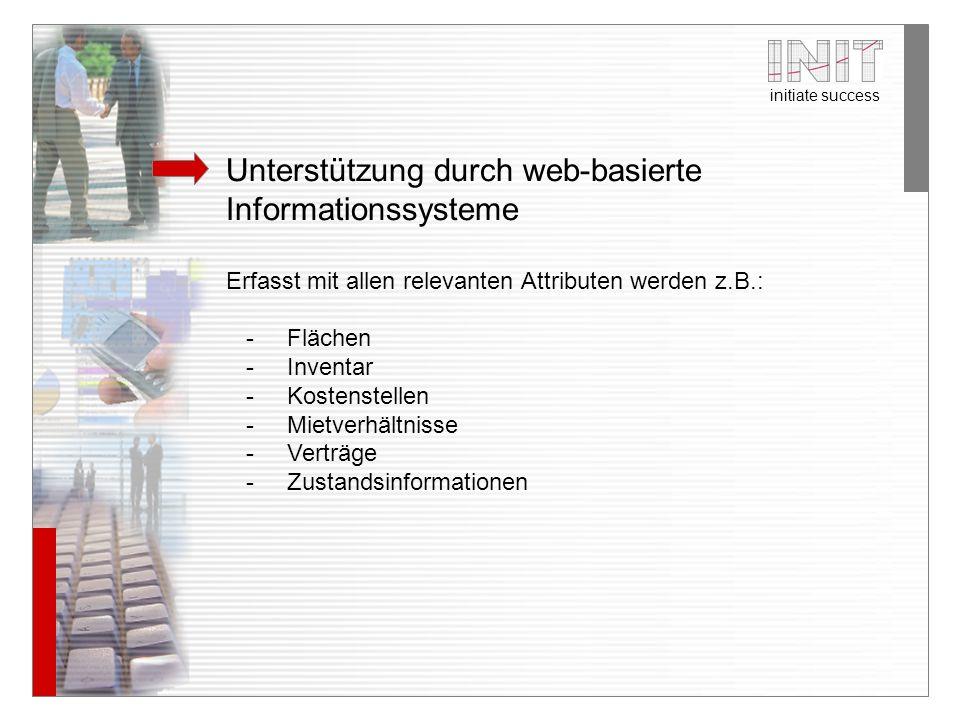 Unterstützung durch web-basierte Informationssysteme