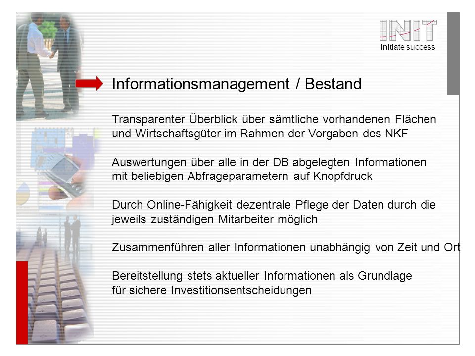 Informationsmanagement / Bestand