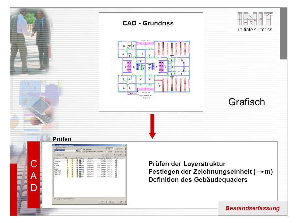Grafisch CAD CAD - Grundriss Prüfen der Layerstruktur