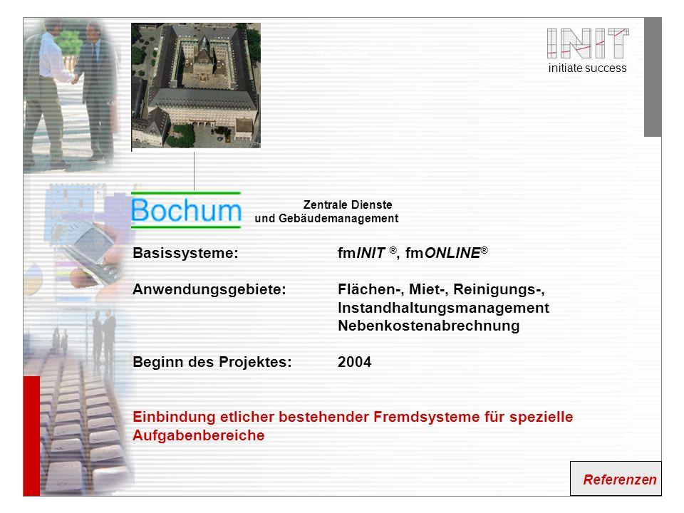 Basissysteme: fmINIT ®, fmONLINE®