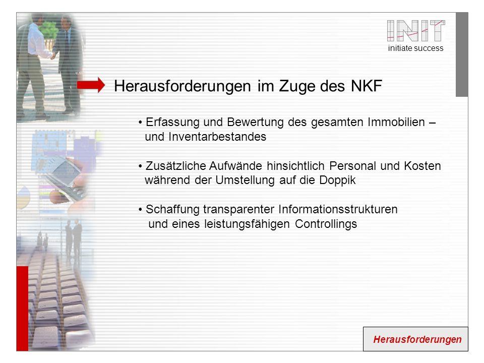Herausforderungen im Zuge des NKF