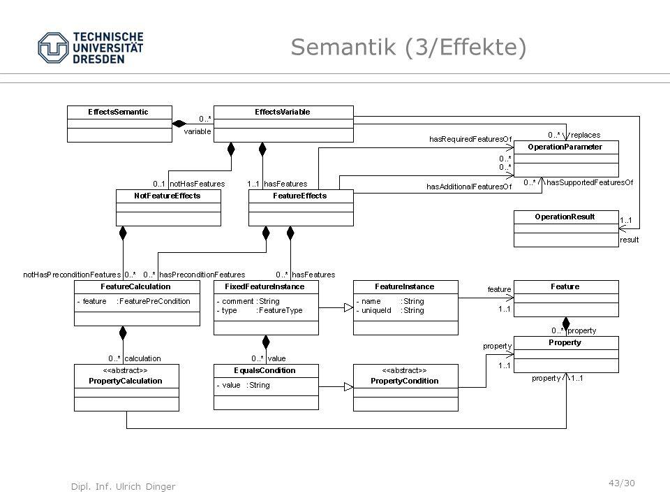 Semantik (3/Effekte)