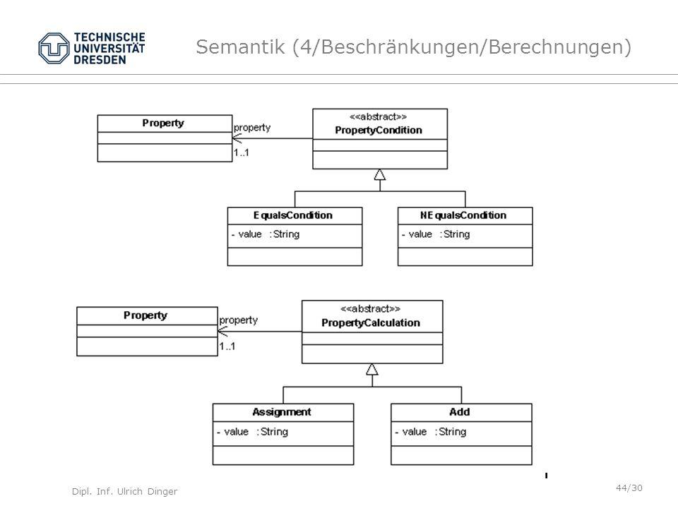 Semantik (4/Beschränkungen/Berechnungen)