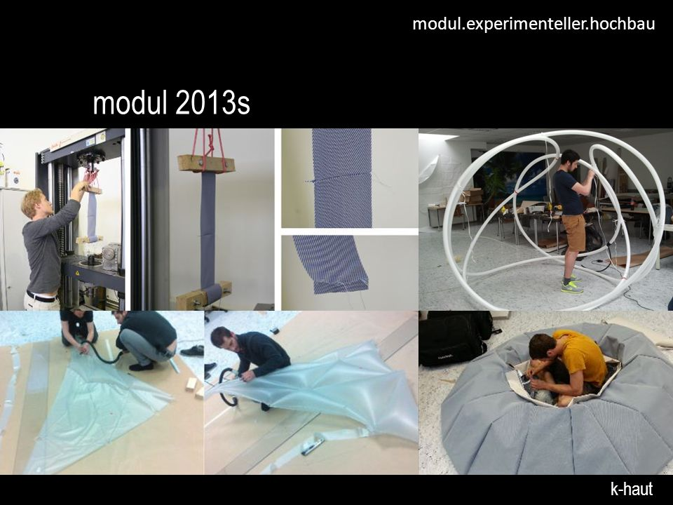 modul 2013s k-haut