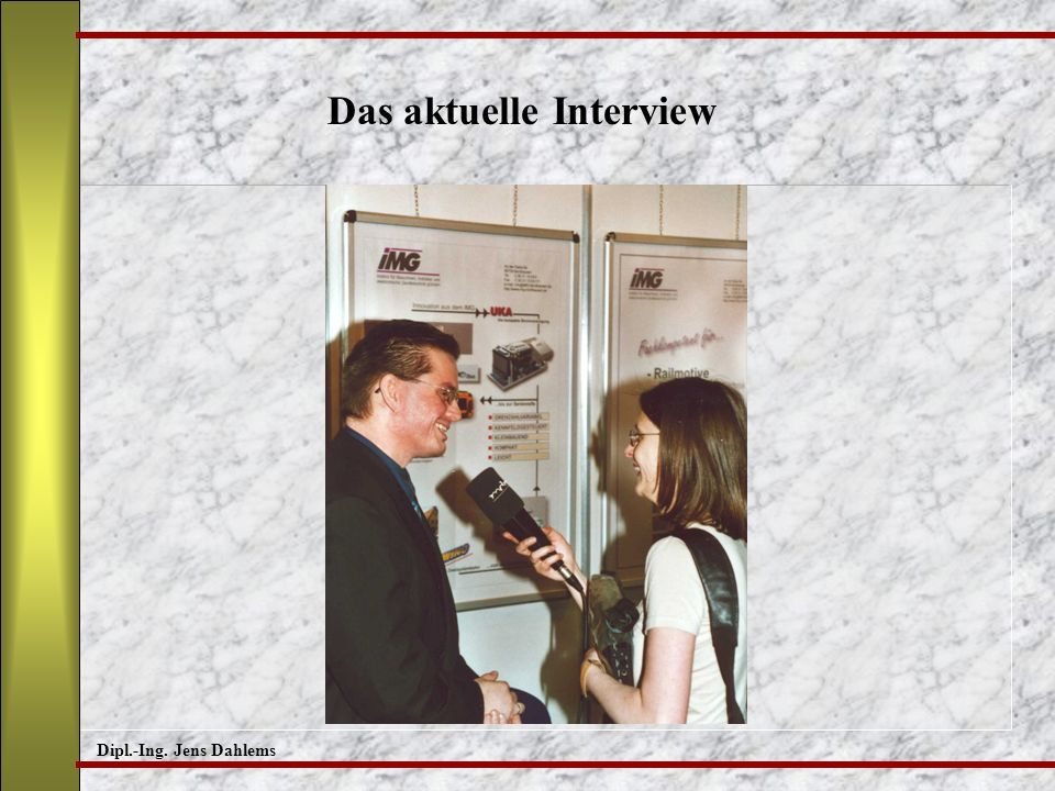 Das aktuelle Interview