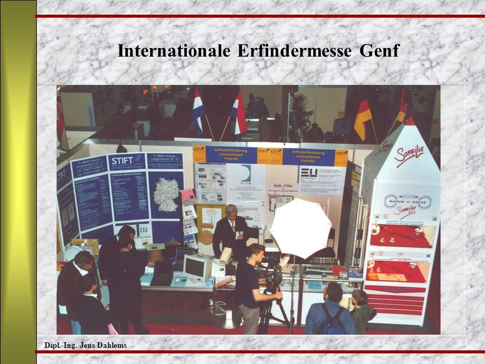 Internationale Erfindermesse Genf