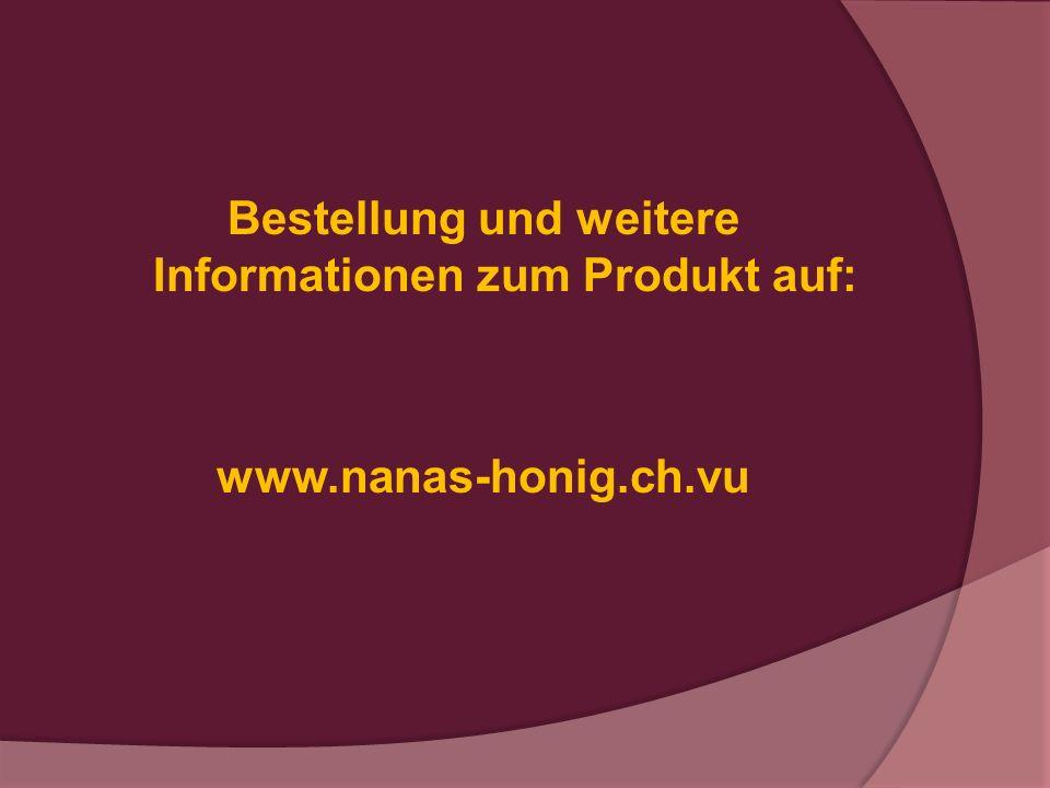 Bestellung und weitere Informationen zum Produkt auf: