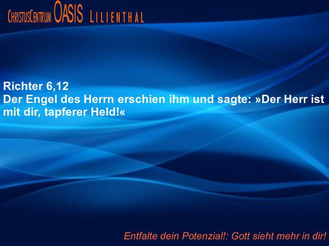 Der Engel des Herrn erschien ihm und sagte: »Der Herr ist