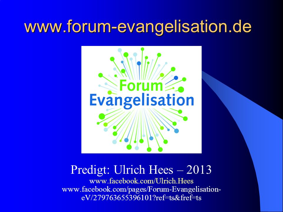www.forum-evangelisation.de