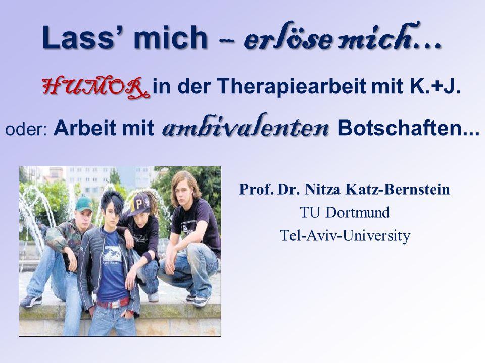 Prof. Dr. Nitza Katz-Bernstein TU Dortmund Tel-Aviv-University