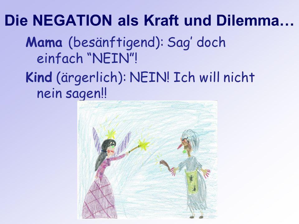 Die NEGATION als Kraft und Dilemma…