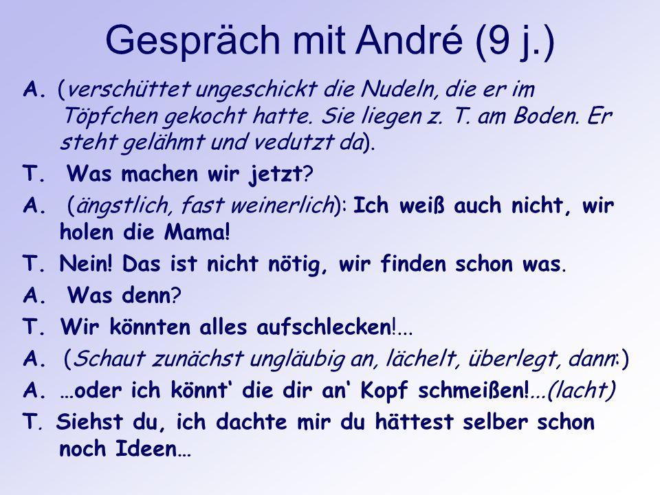 Gespräch mit André (9 j.)