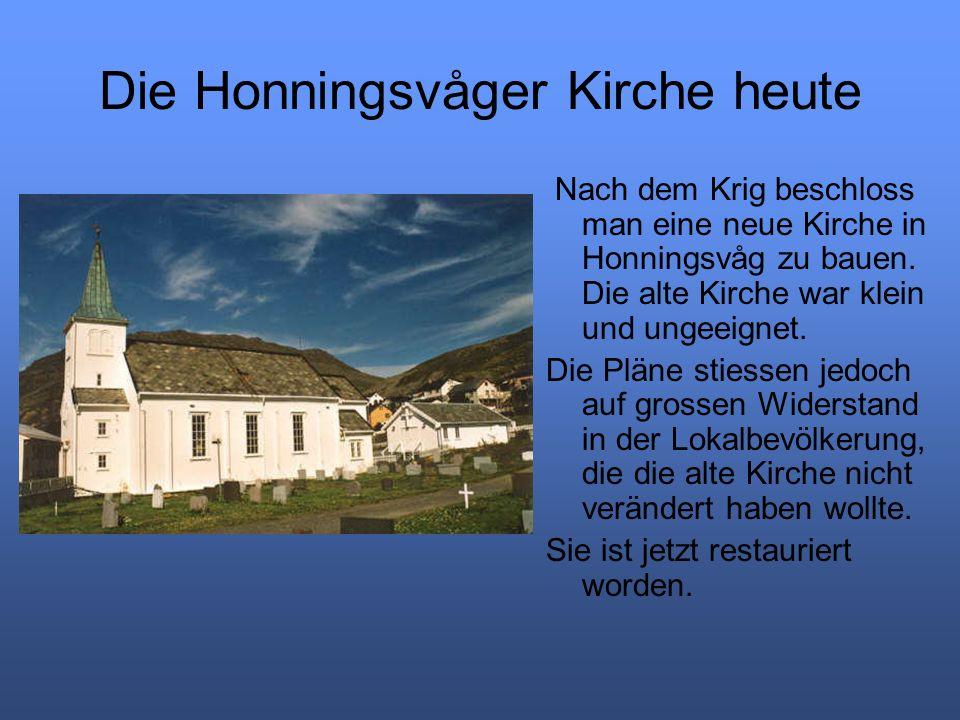 Die Honningsvåger Kirche heute