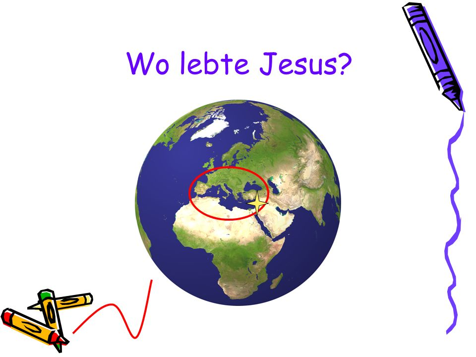 Wo lebte Jesus