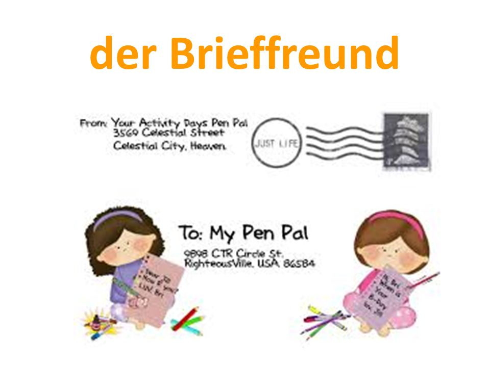 der Brieffreund