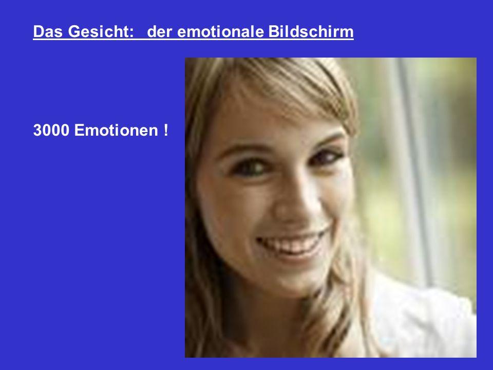 Das Gesicht: der emotionale Bildschirm