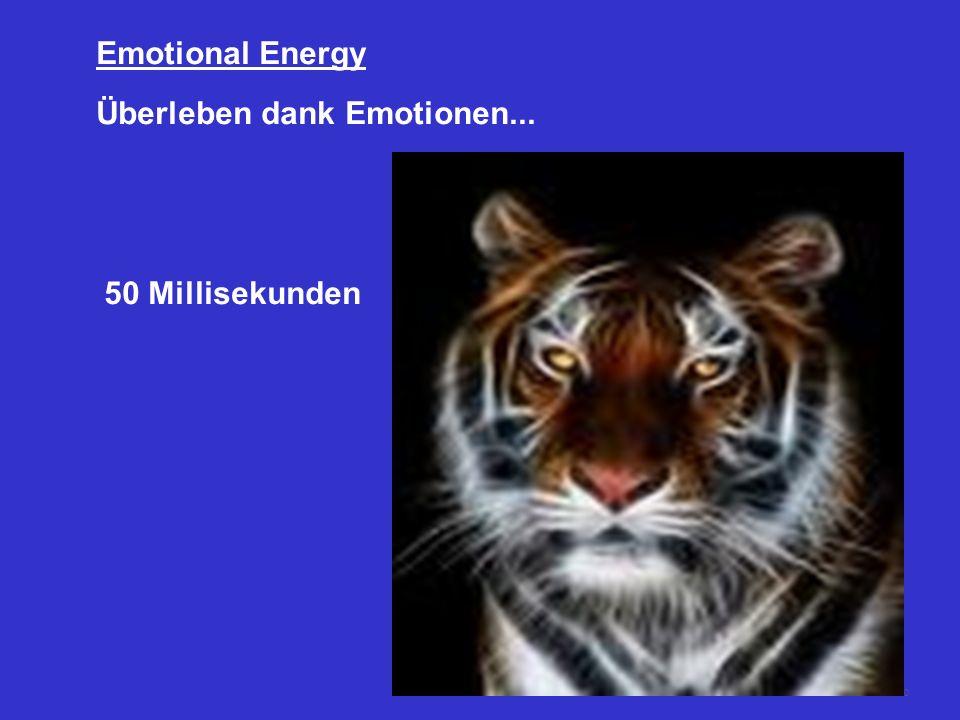 Emotional Energy Überleben dank Emotionen... 50 Millisekunden
