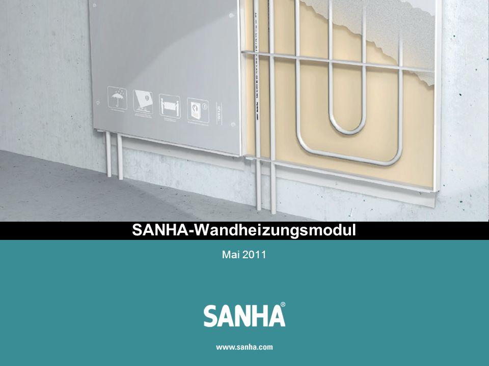 SANHA-Wandheizungsmodul