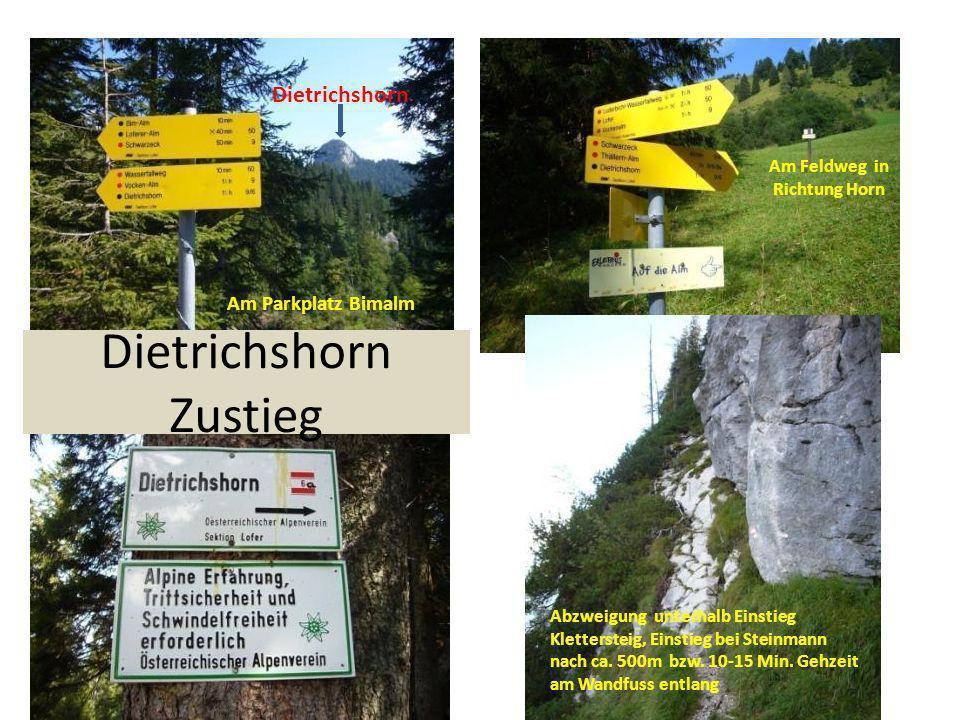 Dietrichshorn Zustieg