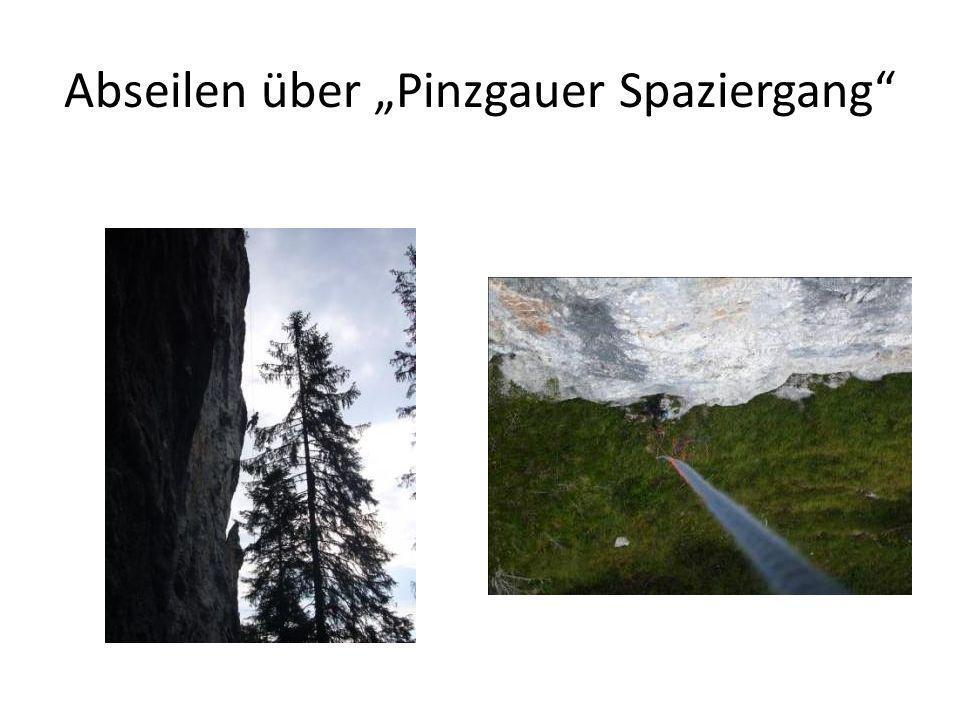 "Abseilen über ""Pinzgauer Spaziergang"