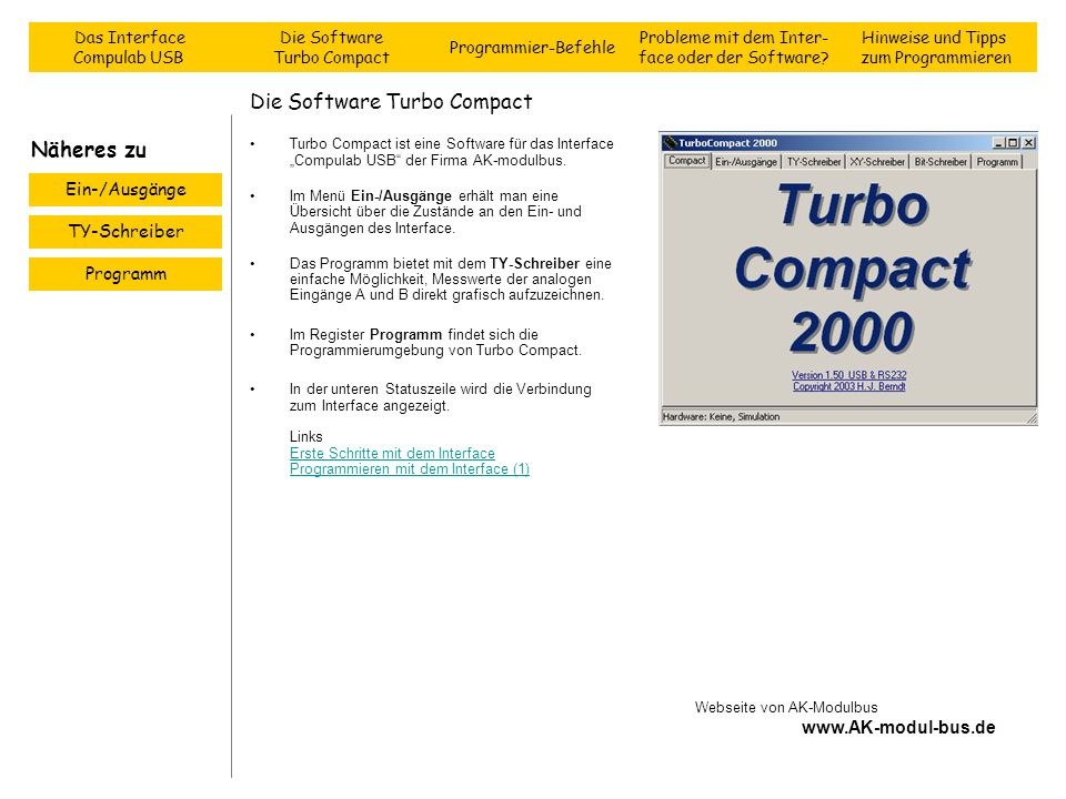 Die Software Turbo Compact