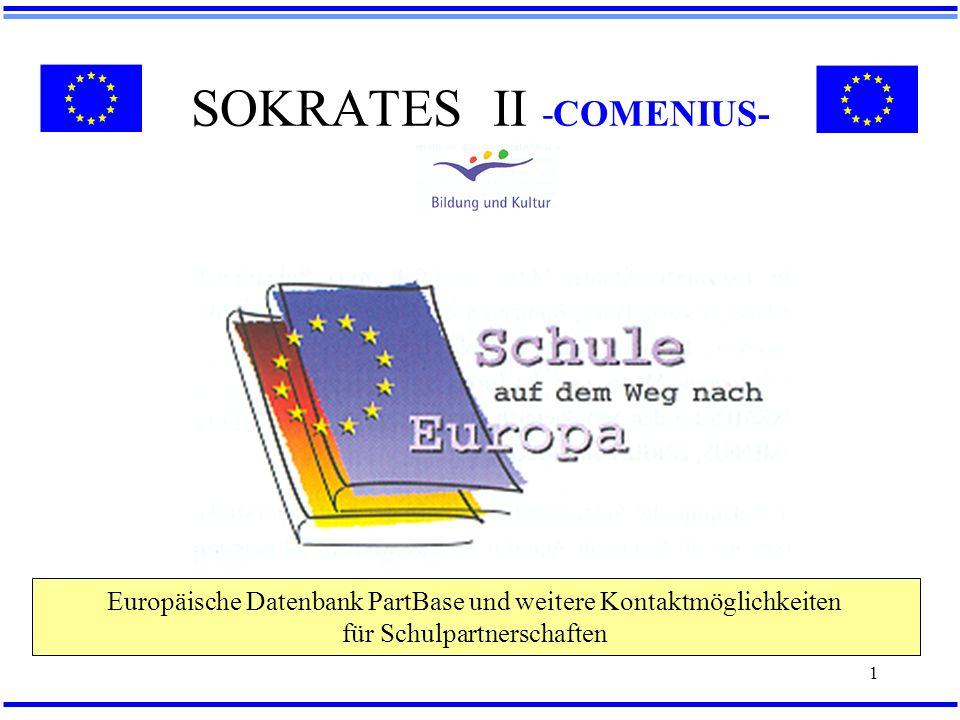 SOKRATES II -COMENIUS-