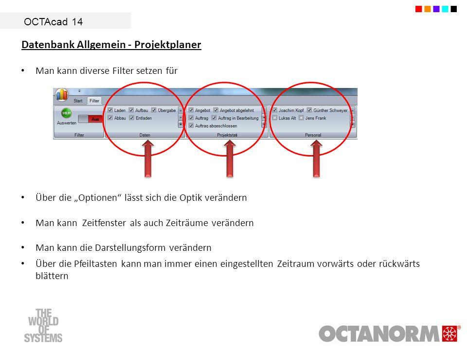 Datenbank Allgemein - Projektplaner