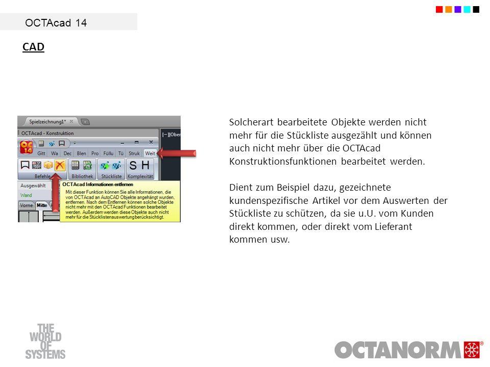 OCTAcad 14 CAD.